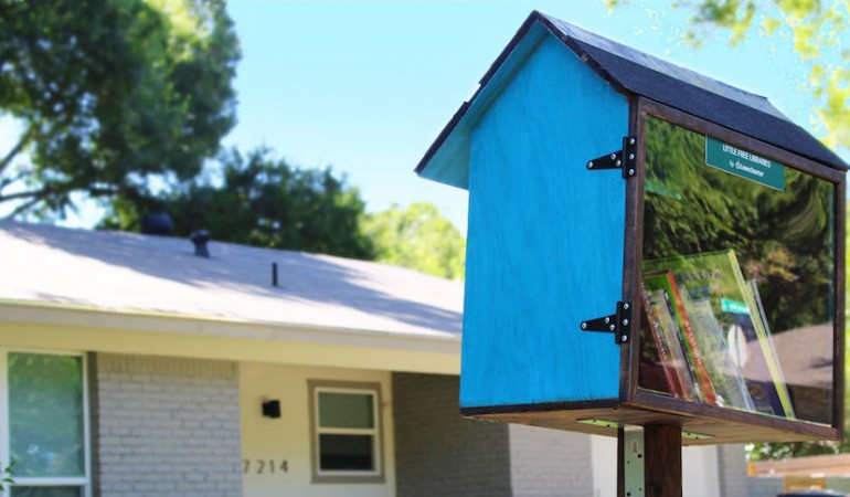 LawnStarter Helps Little Free Library Movement Turn a New Page in Austin
