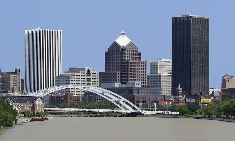 Rochester, N.Y., skyline