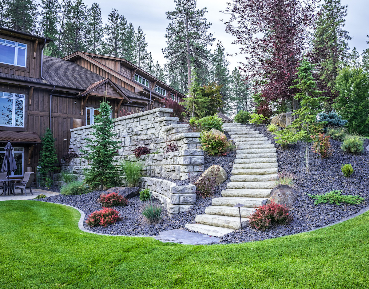 21 Practical Retaining Wall Ideas For Extra Curb Appeal Lawnstarter