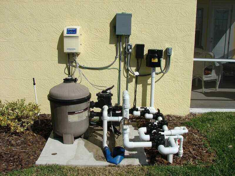 Pool pump and filter system