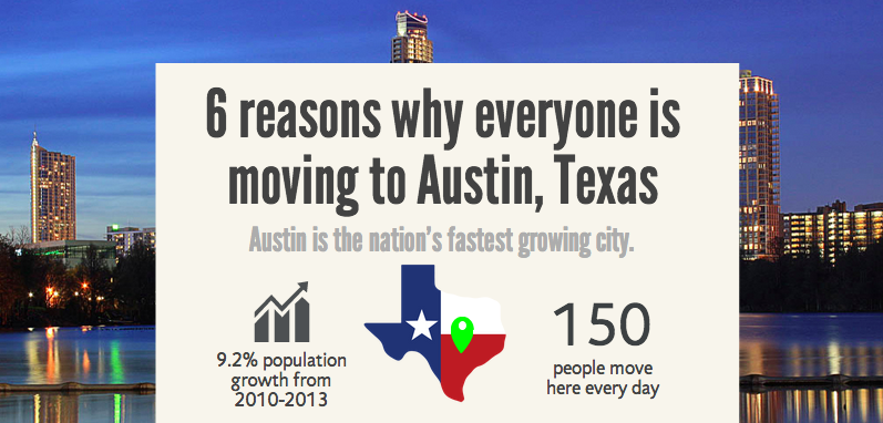 6 Reasons Why Everyone Is Moving To Austin Texas